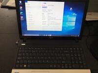 Very fast laptop i7 processor