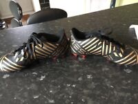 Kids Adidas messi boots size 1
