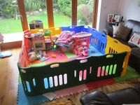 Jolly Kidz Playpen AND Extension - Together Retail New for £240+