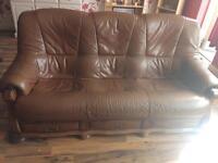 Leather 3piece