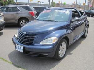 2005 CHRYSLER PT CRUISER CONVERTIBLE | Touring