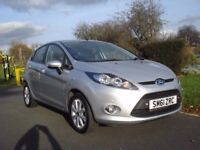 FORD FIESTA 2012 ( 61 ) 1.4 Lt, EDGE,5 Door HATCH BACK FOR SALE, £3795.