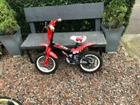 14 in bike with stabilisers