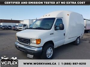 2007 Ford E-350 Bubble Van + Tow Pkg - Certified