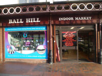 SHOP FRONT UNIT TO RENT AT BALL HILL INDOOR MARKET COVENTRY- TO LET - VAPE SHOP OR MOBILE PHONE SALE