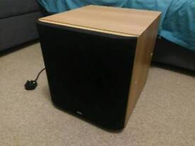 """B&W bower wilkins powered subwoofer 10"""""""