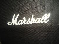 VINTAGE 1980's MARSHALL SPEAKER CABINET