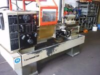 HARRISON M350 GAP BED CENTRE LATHE YEAR 1990 DRO