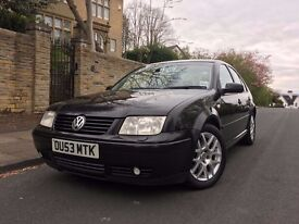 2003 '53' VOLKSWAGEN BORA HIGHLINE WINTERPACK, 130 BHP, AUTO, HEATED LEATHER SEATS, VERY HIGH SPEC!