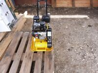 """NEW COMPACTOR PLATE 5.5 HP ENGINE 14"""" WIDE"""
