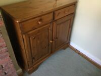 Sideboard/ Cupboard Antique pine real wood (Ducal - the Pine People)