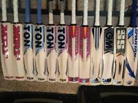 Different Branded Cricket Bats