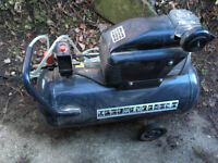 Mercure Mecafer 1.5HP, 50Litre, 180PSI, 94DB, handle, 2 wheels- reduced to £60, collected