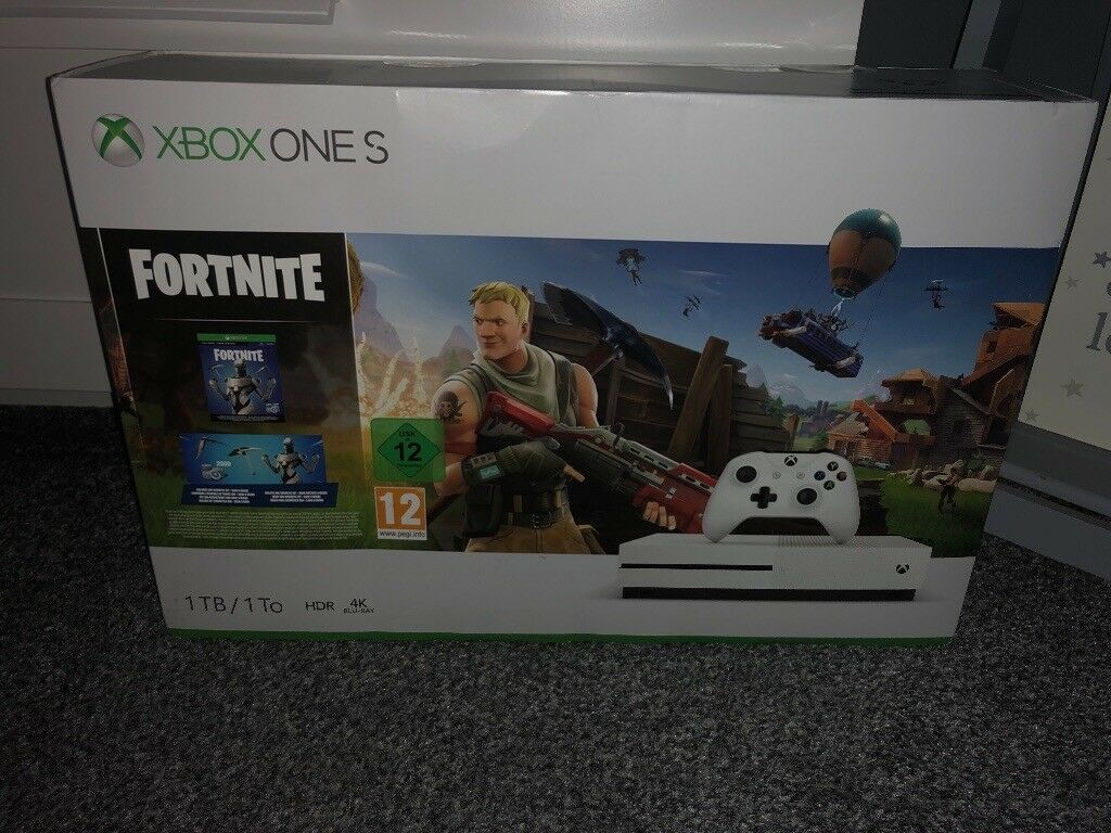 Xbox One S With Fortnite Battle Royale In Aspley Nottinghamshire