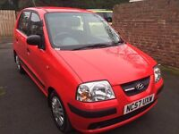 HYUNDAI AMICA LIMITED EDITION ATLANTIC, 5 DOOR ,2008 MODEL WITH ONLY 36400 MILES WITH FSH