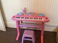 Electric Toy Keyboard