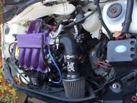 Renault Clio 172/182 Engine (Breaking all parts on it)