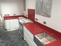 Quartz Granite Marble kitchen worktop