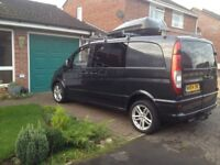 Mercedes Vito 115 campervan- registered with the DVLA
