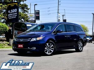 2015 Honda Odyssey Touring - Navigation -  Sunroof