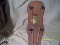 "DULCETTA SHORT ARM BANJO No 23856 B.S. LONDON . 10"" vellum, OPEN BACK , 8 TENSIONERS V.G.C.."