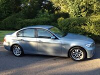 BMW 320 6 SPEED DIESEL 2005 CHEAP CAR TO RUN-MOT FULL SERVICE HISTORY-A VERY CLEAN ECONOMICAL CAR