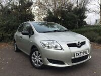2007 (57) Toyota Auris 1.4 D-4D T2 77,000 MILES IMMACULATE CONDITION FULL SERVICE HISTORY COROLLA