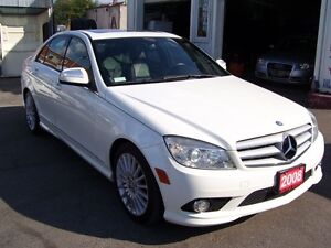 2008 Mercedes-Benz C-Class 2.5L/4 MATIC/BLUETOOTH Kitchener / Waterloo Kitchener Area image 3