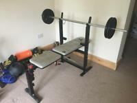Weight bench, weight stand and incline bench
