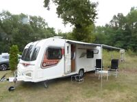 Bailey Cadiz, 4 Berth, 2014. With Fiamma pull out awning.