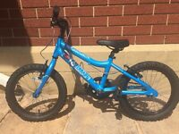 Ridgeback MX16 children's mountain bike - blue.