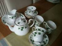 Colclough Ivy Leaf Crockery set