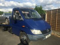 BARGAIN****MERCEDES SPRINTER RECOVERY TRUCK MINT CONDITION****READY FOR WORK