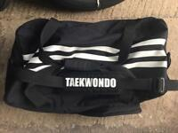 Adidas taekwondo body armour and pads bag