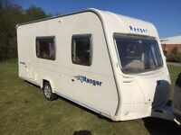Bailey ranger 4 berth 2008-7 modell 16-17 ft light wait lovely condition electric heating system hot