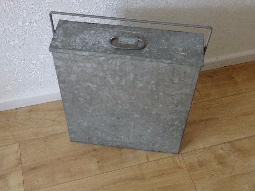tippy hereford hr29ba Galvanized Ash Box. log burners - for a solid fuel fire