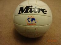 Wanted, old school Mitre Mulitplex football size 5, unused.
