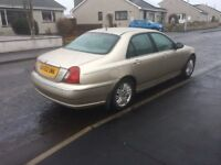 Rover 75 2.0 CDTI Connoisser 2002 52 plate. Gold top of the range Rover all the whistles and bells