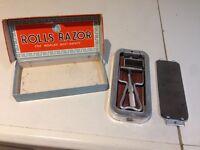 Old Rolls razor
