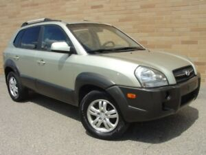 2007 Hyundai Tucson GL 4X4. Loaded! V6 Auto!