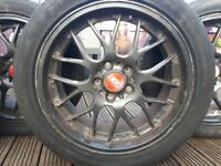18 inch alloy wheels 5 studs to fit vw transporter t5 among others
