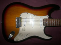 Fender Squier Stratocaster Electric Guitar / 3 Colour Sunburst.