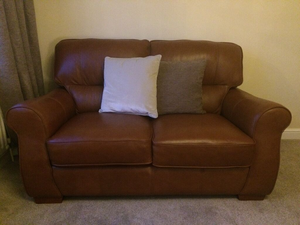 Two Seater Leather Sofa In Wellington Shropshire Gumtree ~ Wellington Leather Sofa