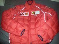 Ferrari puffer Fila Jacket