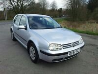 VOLKSWAGEN GOLF 1.6 SE AUTOMATIC, 52 PLATE, MOT OCTOBER. 73,707 MILES. 1 PREVIOUS OWNER.