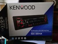 Kenwood CD Receiver with USB Interface Model KDC-3057UR