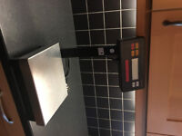 Sartorius QS8000A Low Footprint Bench Top Washable Scale. Spares or Repair 1-Decimal Point Balance