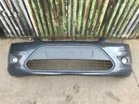 Ford Focus 58 plate on front bumper with fogs