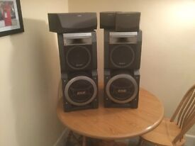 Sony Hi-Fi Speakers and surround sound system