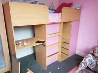 Kidspace Cabin Bed